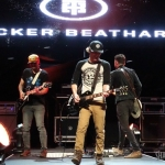 Tucker Beathard opening for Dierks Bentley at Xfinity Theatre in Hartford CT on June 10, 2016.