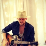 Native Run's Bryan Dawley performing at our house party.
