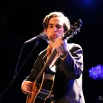 Andrew Combs at NYC's Bowery Ballroom on February 12, 2016.
