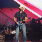 Brad Paisley at FarmBorough Festival in New York City on June 27, 2015.