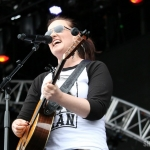 Brandy Clark at FarmBorough Festival in New York City on June 27, 2015.