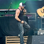 Brantley Gilbert performing at MetLife Stadium on August 15, 2015.