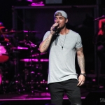 Brett Young opening for Lady Antebellum in Hartford on July 22, 2017 / Photo by Shawn St. Jean
