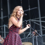 Cassadee Pope at FarmBorough Festival in New York City on June 28, 2015.