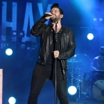 Dan + Shay at the Dutchess County Fair in Rhinebeck NY on August 25, 2015.