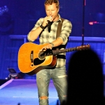 Dierks Bentley at FarmBorough Festival in New York City on June 26, 2015.
