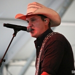 Jon Pardi at FarmBorough Festival in New York City on June 26, 2015.