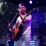 Jake Owen in NYC's Madison Square Park on August 3, 2016 for the release of American Love.