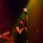 Jana Kramer at Gramercy Theatre in NYC on September 23, 2015.