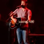 Josh Turner at the Mohegan Sun Wolf Den on September 25, 2015.