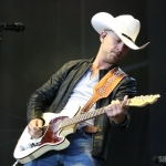 Justin Moore at FarmBorough Festival in New York City on June 27, 2015.