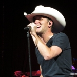 Justin Moore opening for Miranda Lambert at the Xfinity Theatre in Hartford CT on August 30, 2014.