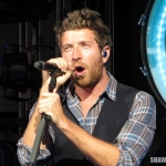 Brett Eldredge opening for Keith Urban at the Xfinity Theatre in Hartford CT on August 16, 2014.