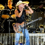 Kenny Chesney performing at MetLife Stadium on August 15, 2015.