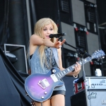 Lindsay Ell at FarmBorough Festival in New York City on June 28, 2015.