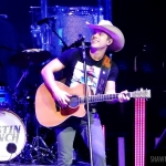 Dustin Lynch at Mohegan Sun on the 2016 Kill The Lights Tour, February 27, 2016.