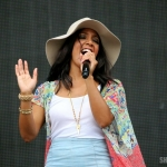 Mickey Guyton at FarmBorough Festival in New York City on June 27, 2015.