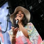 Mickey Guyton at FarmBorough Festival in New York City on June 27, 2015.