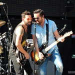 Old Dominion performing at MetLife Stadium on August 15, 2015.