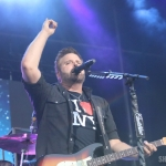 Randy Houser at FarmBorough Festival in New York City on June 28, 2015.