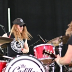 The Cadillac Three at FarmBorough Festival in New York City on June 26, 2015.