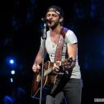 Thomas Rhett opening for Miranda Lambert at the Xfinity Theatre in Hartford CT on August 30, 2014.