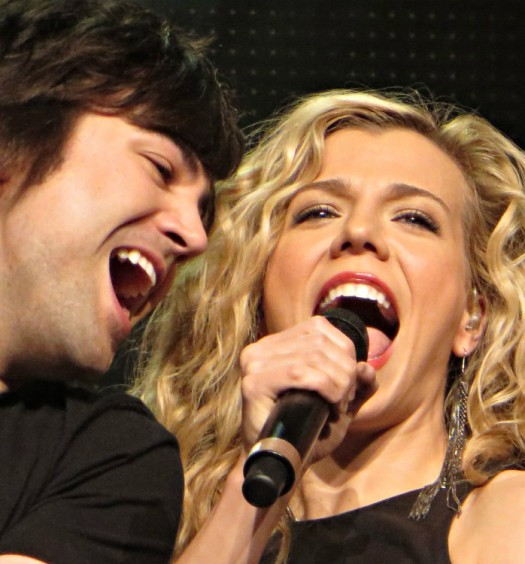 The Band Perry at the Oakdale Theatre on May 1, 2014