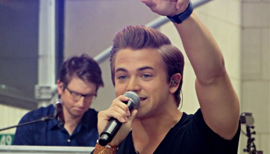Hunter Hayes on the Today Show