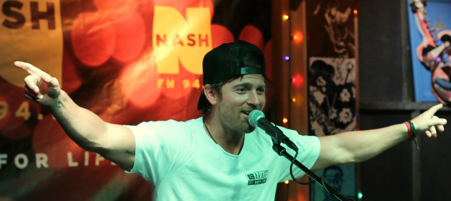 Kip Moore acoustic show at Brother Jimmy's on August 24, 2015
