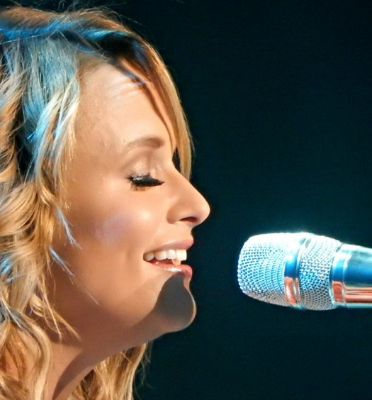 Miranda Lambert at Madison Square Garden in NYC on March 28, 2015.