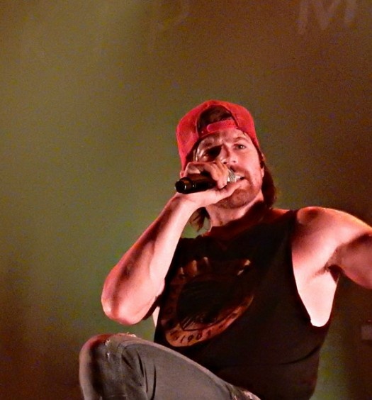 Kip Moore at Terminal 5 in NYC on December 3, 2015.