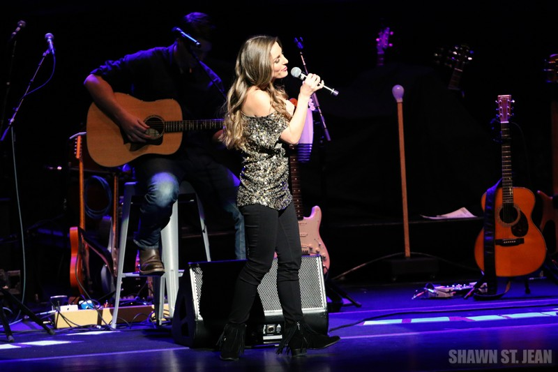 Tara Thompson on the CMT Next Women of Country Tour at the Beacon Theatre in NYC on January 20, 2016.