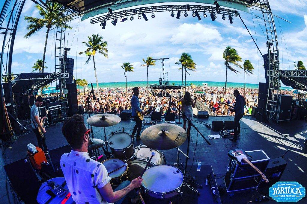 At Tortuga Festival April 2016 - photo courtesy of Native Run.