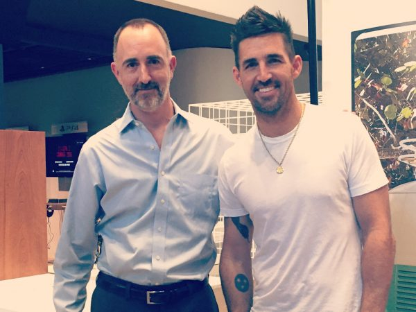 The Country Scene's Shawn St. Jean and Jake Owen
