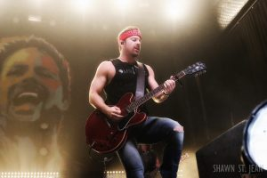 Kip Moore at Terminal 5 in NYC on December 1, 2016.