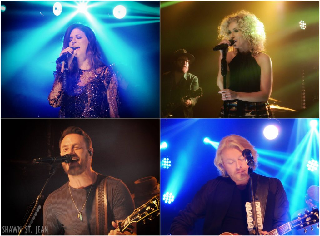 Little Big Town at the iHeartRadio Theater in NYC.