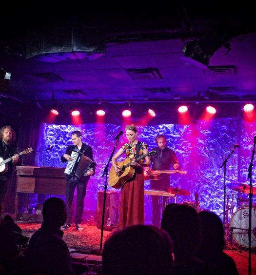 Jennifer Nettles at The Iridum in NYC. Photo by Jim Belmont, courtesy of PFA Media.