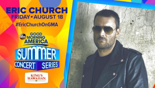 Eric Church – GMA in Central Park