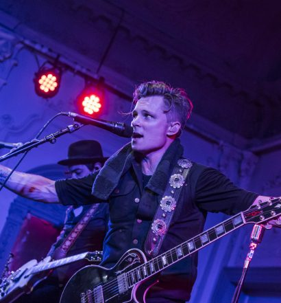 Frankie Ballard live at Bush Hall in London, UK on 13 October 2016. Photo by: Carsten Windhorst / Courtesy of Shorefire Media.