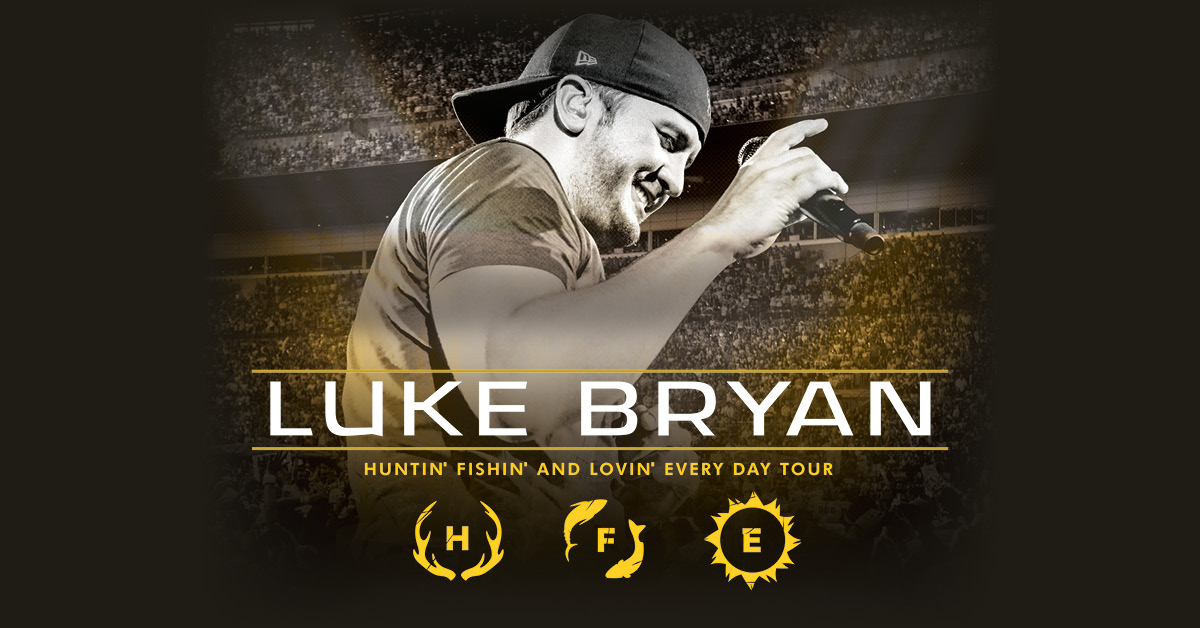 Luke Bryan 2017 Huntin' Fishin' and Lovin' Everyday Tour