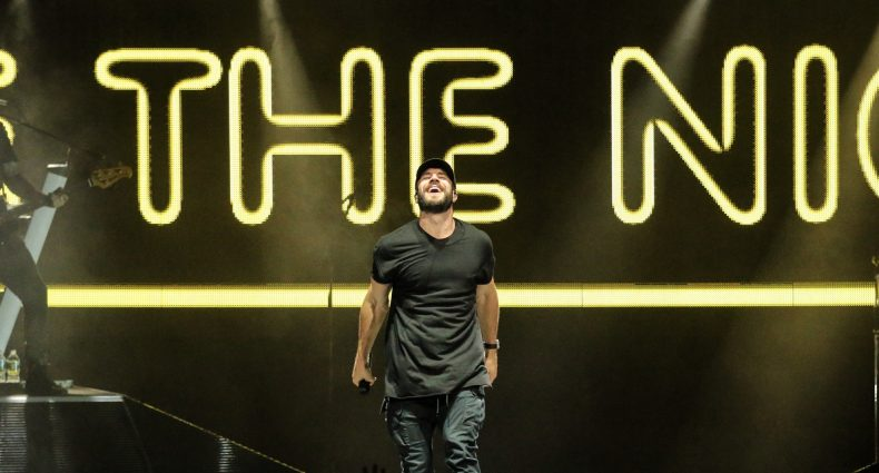 Sam Hunt in Hartford on June 24, 2017 on the 15 in a 30 Tour / Photo by Shawn St. Jean