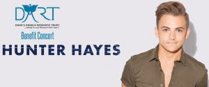 Hunter Hayes to Headline Dana's Angels Research Trust Gala Benefit & Concert at the Palace Theatre