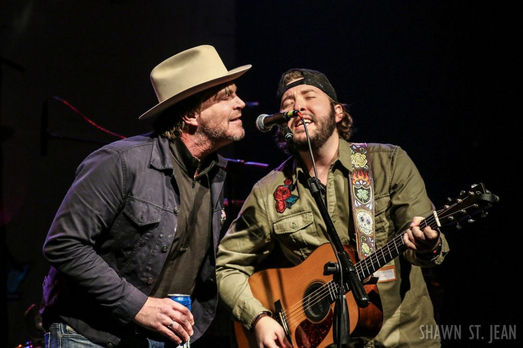 Ryan Beaver with Jack Ingram opening for Aaron Watson at Gramercy Theatre / Photo by Shawn St. Jean