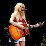 Ashley Monroe opening for Miranda Lambert at Madison Square Garden in NYC on March 28, 2015.