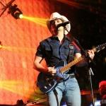 Brad Paisley at FarmBorough Festival in New York City on June 27, 2015.