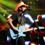 Brad Paisley at the Xfinity Theatre in Hartford CT on July 25, 2015.