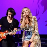 Carly Pearce opening for Rascal Flatts in Hartford CT on June 8, 2018. Photo by Shawn St. Jean