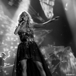 Carrie Underwood with Hunter Hayes at the Webster Bank Arena