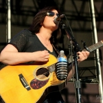 Brandy Clark opening for Chris Stapleton at Forest Hills Stadium on July 23, 2016