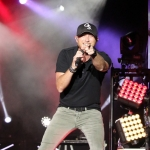 Cole Swindell at the Dutchess County Fair in Rhinebeck NY on August 27, 2015.